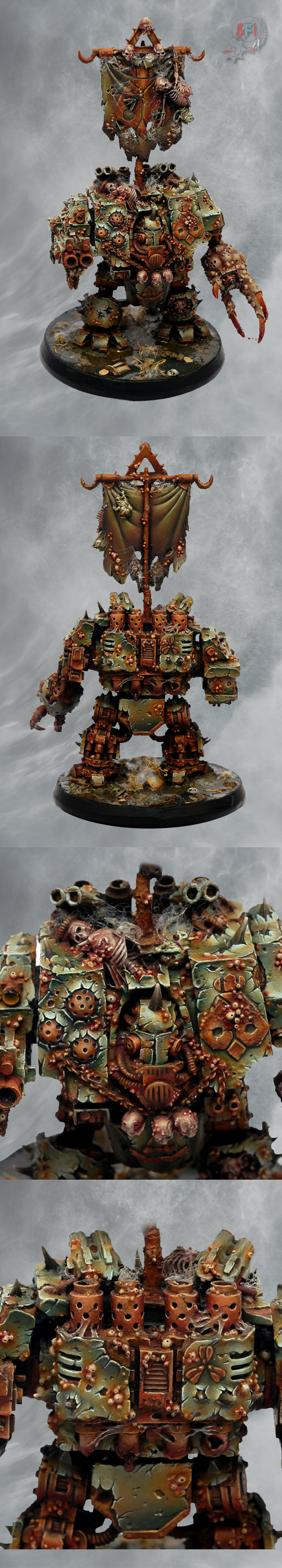 Nurgle Dreadnought set1