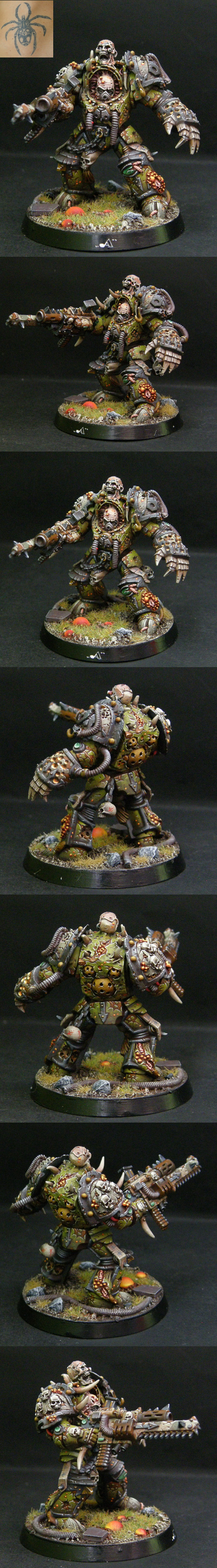 DEATH GUARD TERMINATOR with forgeword part