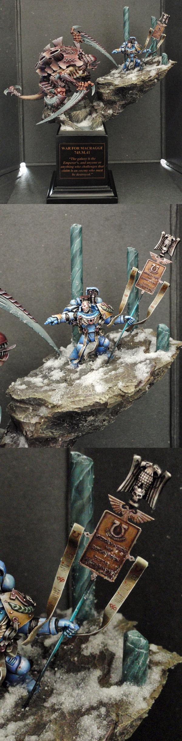 Ultramarine warrior, War For Macragge 745.M.41
