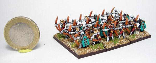 Tomb King Archers Warmaster 10mm Tomb King