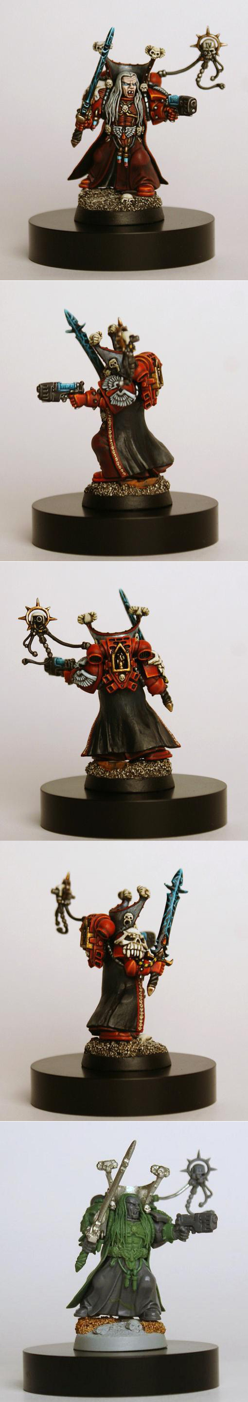 Custom Blood Angels Librarian Mephiston