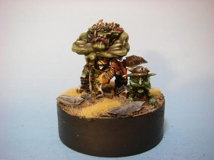 Warboss and Grot