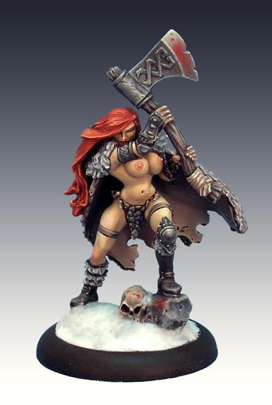 Busty Barbarian Babe