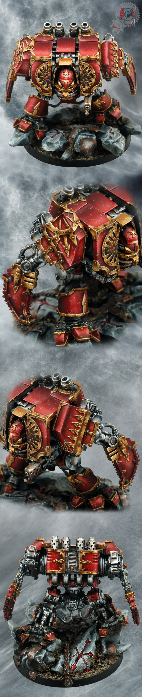 World Eaters Dreadnought by Forge World