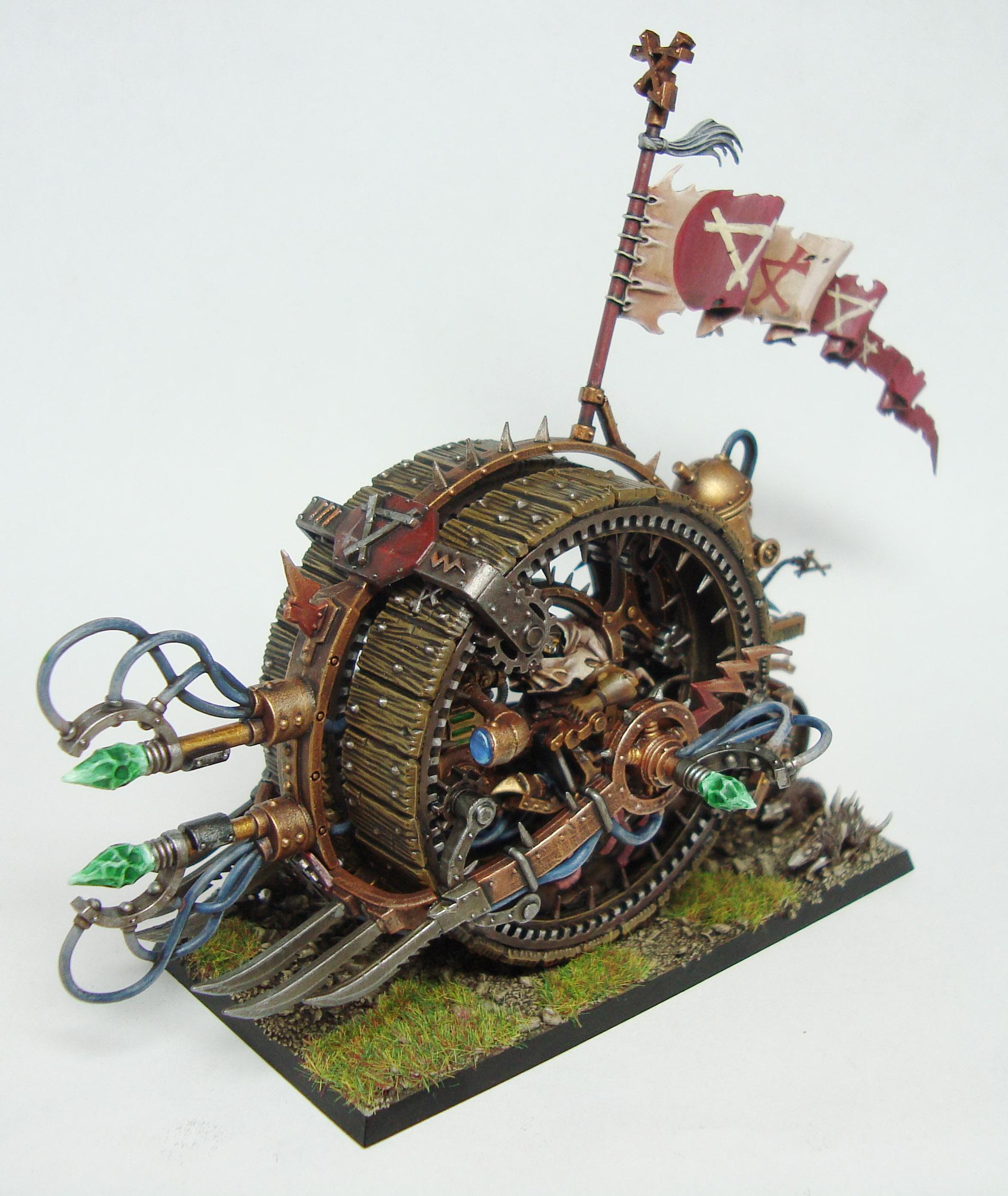 Skaven Doomwheel By Pete Austin