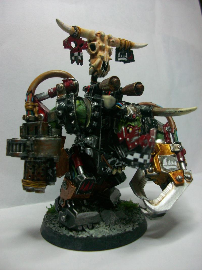 CoolMiniOrNot - Ork Mega Nob Ork Warlord Ghazghkull Thraka
