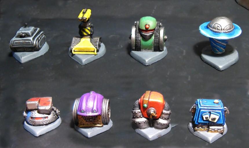 RoboRally robots