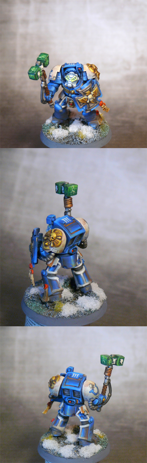 Ultramarines Close Combat Terminator