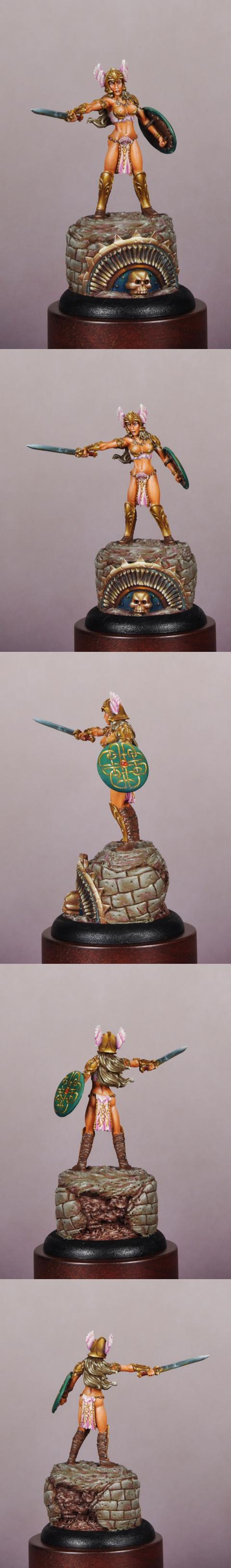 CMON Contest 22 Classic Female Barbarian