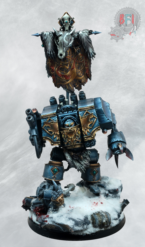 Space Wolves Dreadnought by Forge World