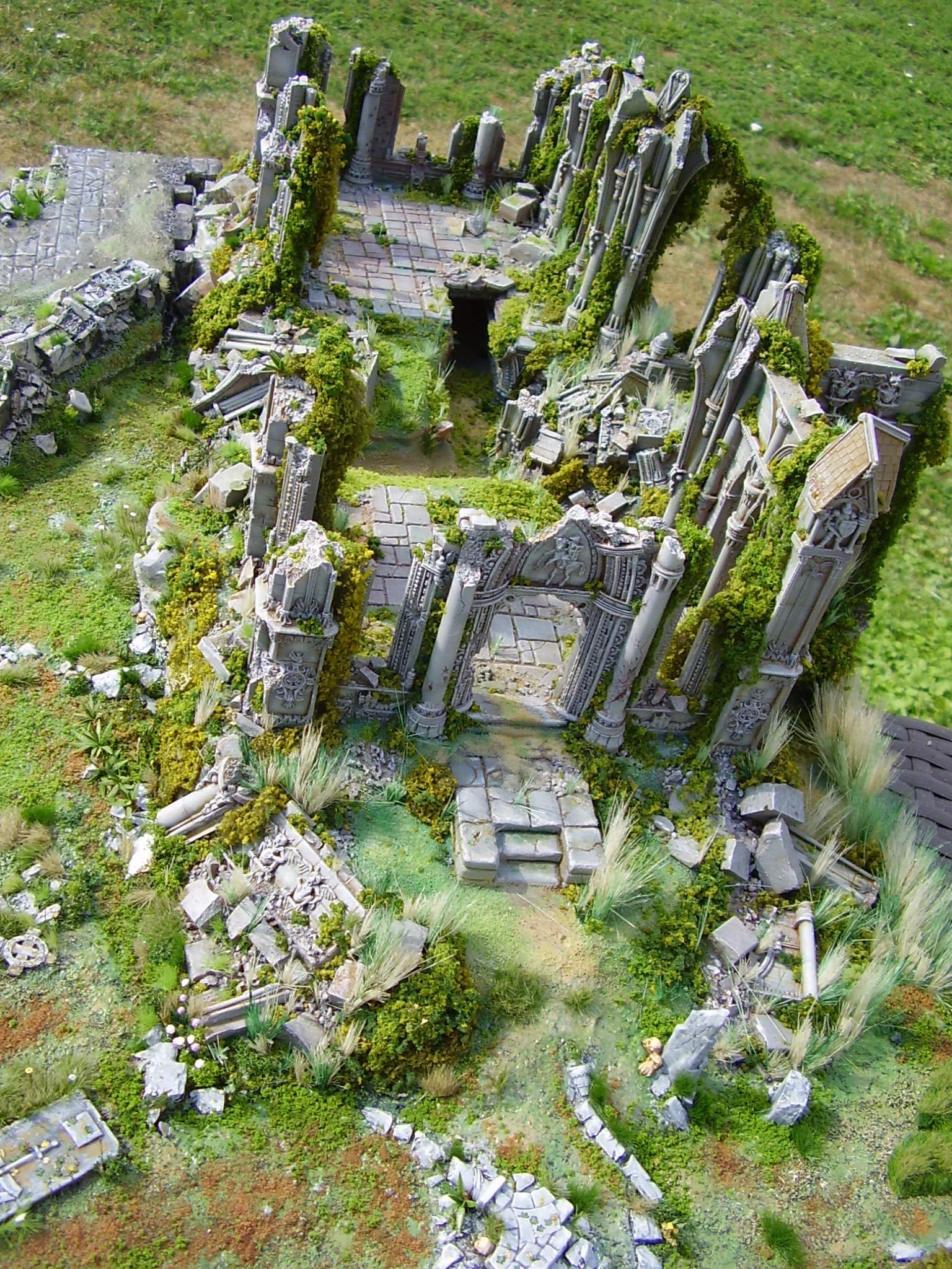 Armorcast Ruine Kirche Diorama