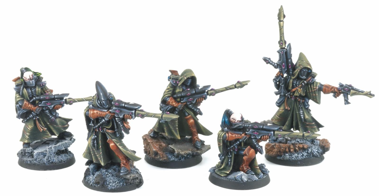 Eldar pathfinders