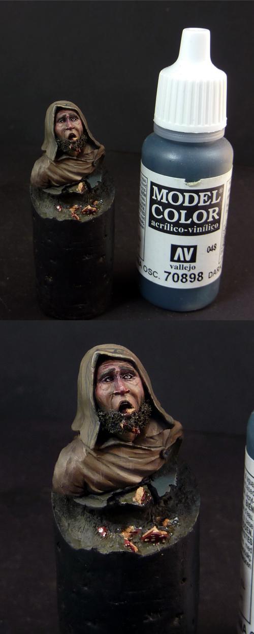 Druid eating wrong mushrooms