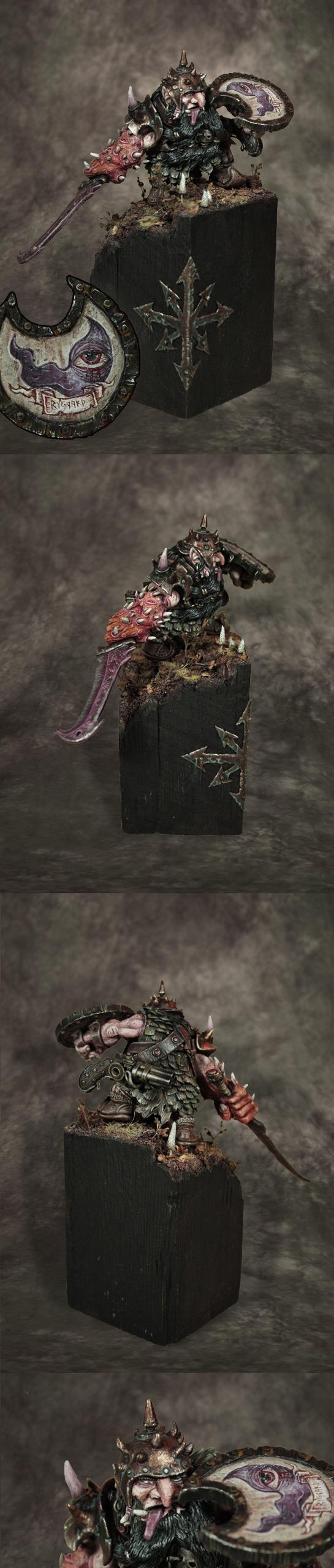 Rogan Rygaard, Chaos Dwarf of Tzeentch