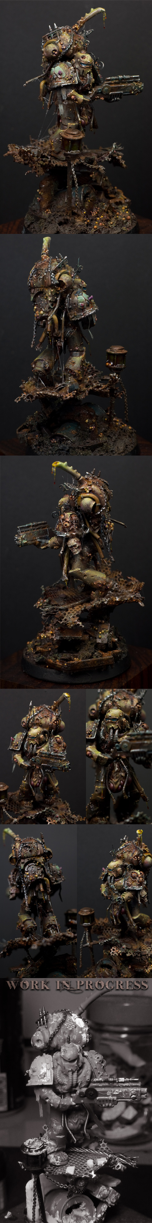 The Wayfarer - Nurgle Death Guard Fallen