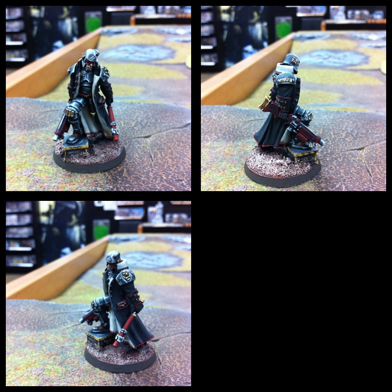 Arbite Judge, 54mm Inquisitor