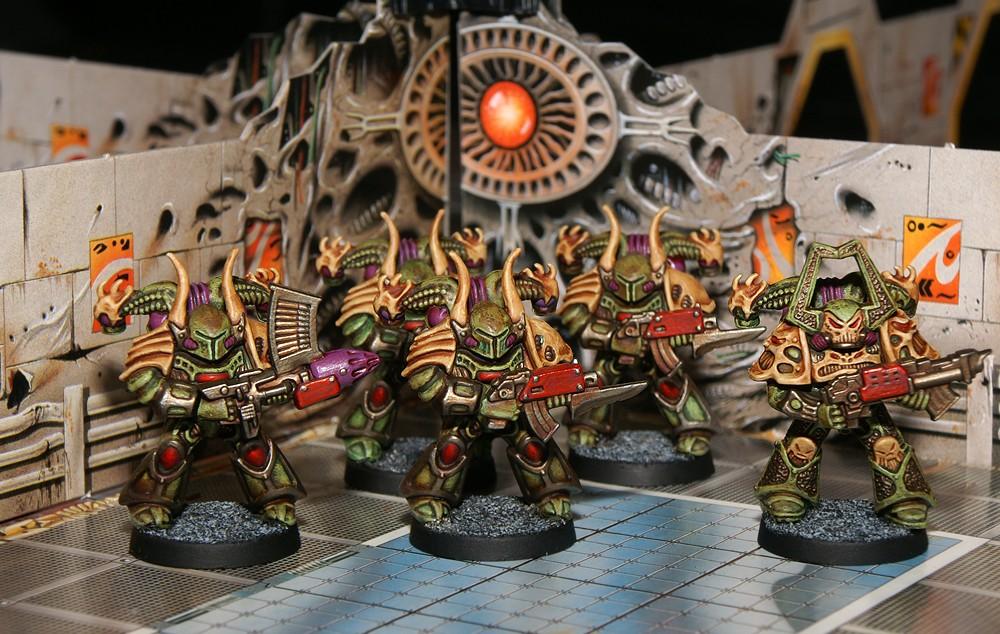 Space Crusade Marines