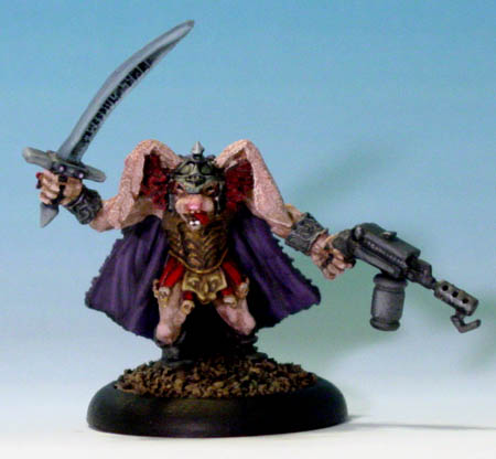 Gamma World Iron King Hoop - Thumper War Captain