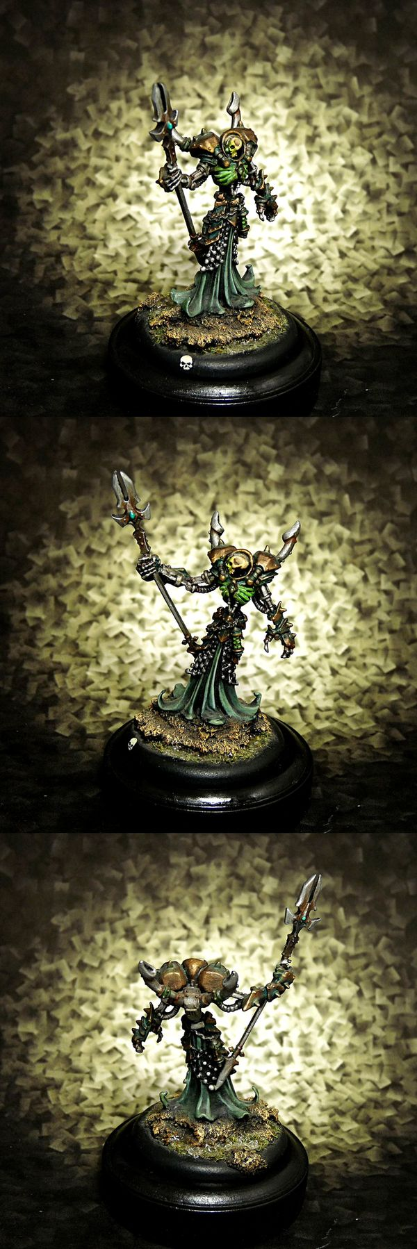 Iron Lich Asphyxious - Cryx warcaster