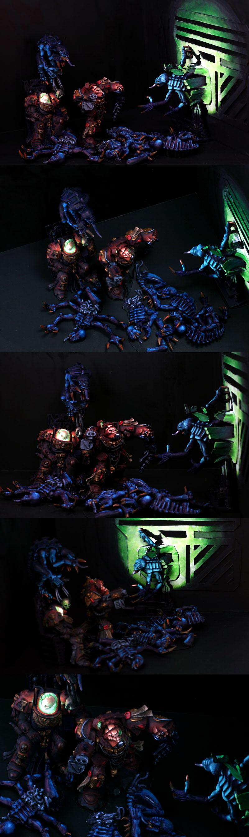 OSL Space Hulk Diorama - Brother Xephectel's Last Stand