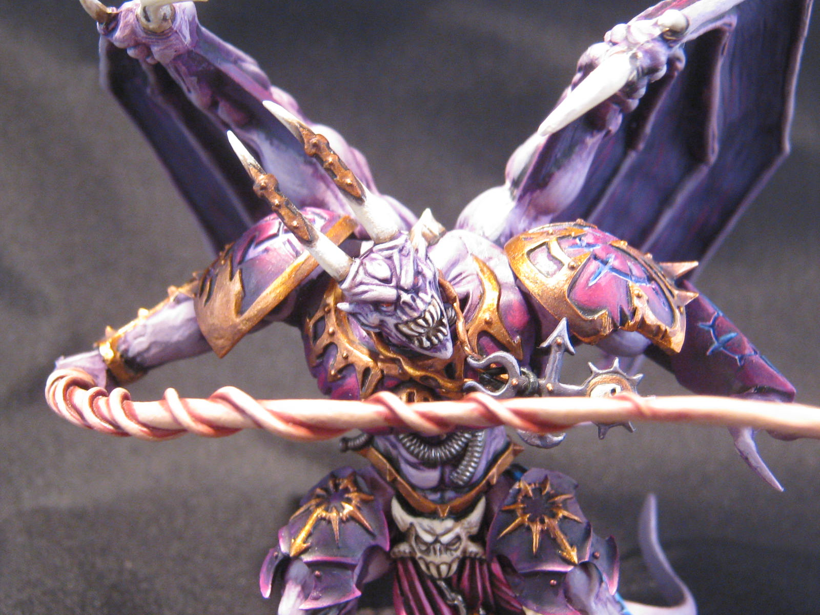 Slaanesh Daemon Prince Conversion Slaanesh Daemon Prince