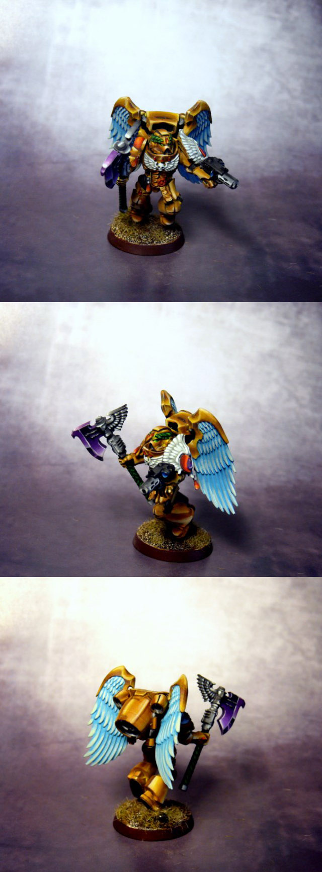 Blood Angels Sanguinary Guard NMM