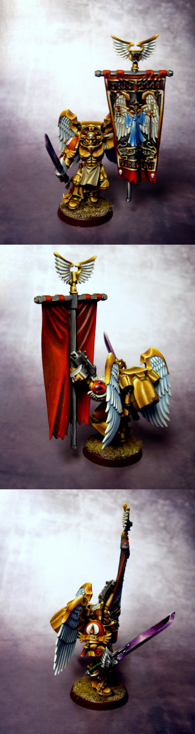 Blood Angels Sanguinary Guard NMM Standard Bearer