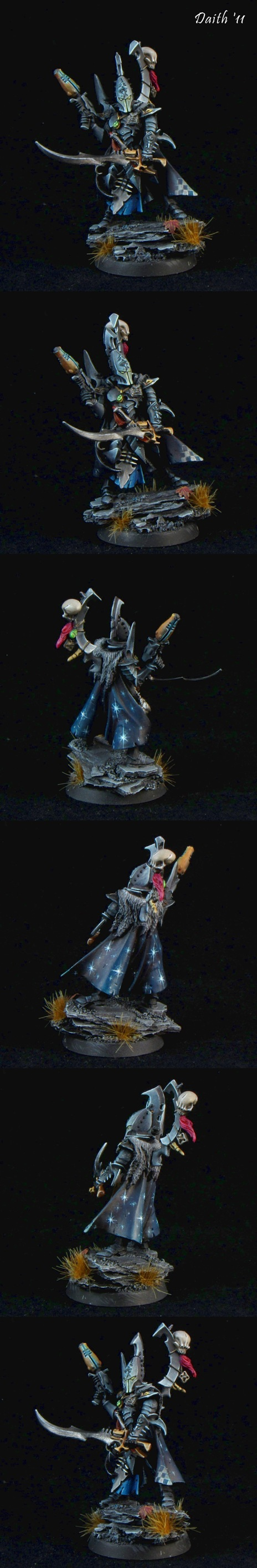 Dark Eldar Duke Sliscus the Serpent by Daith