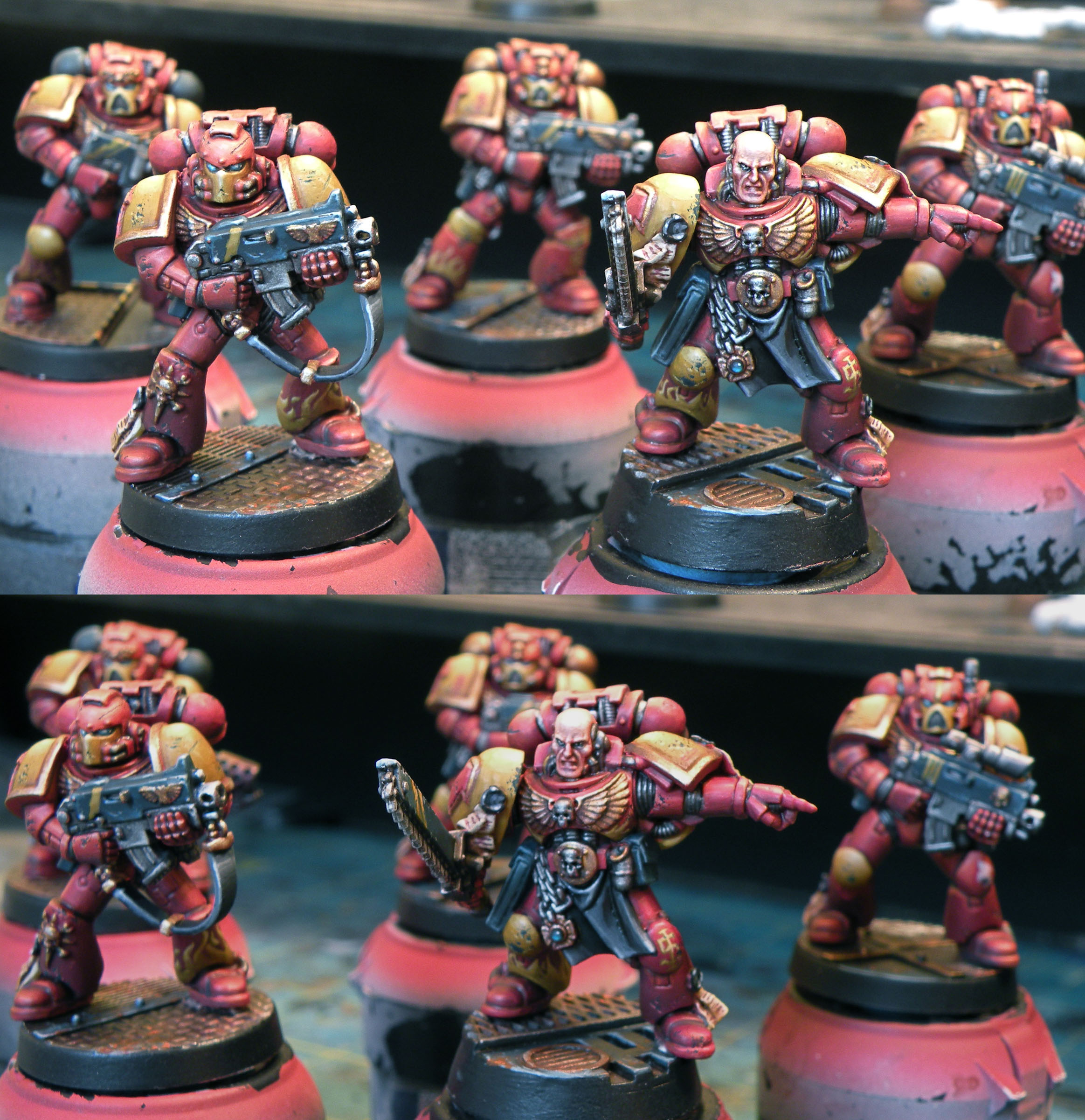 Fire Hawks Space Marine Squad