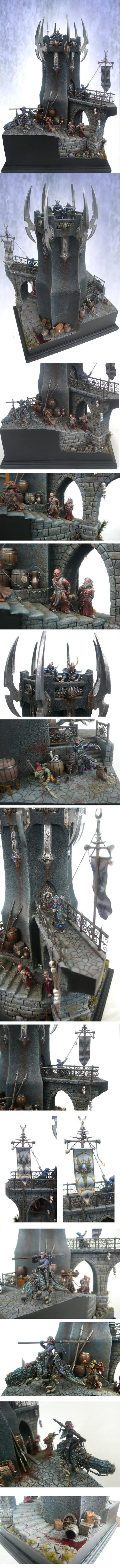 Dark elves tower