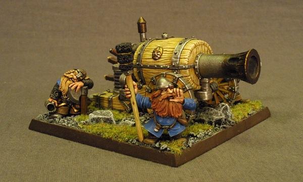Dwarf flamecannon