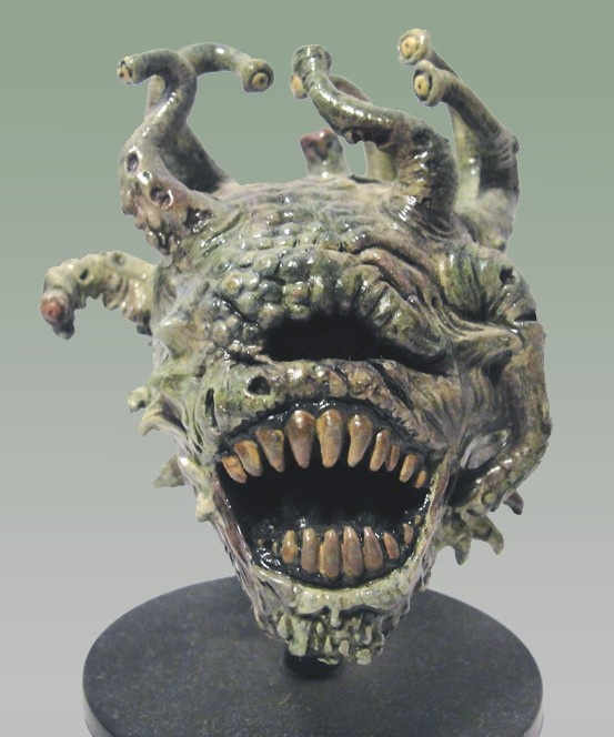 Death Tyrant (Beholder Lich prepainted D&D miniature)