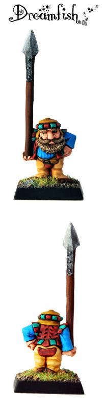 Dwarf - Marauder MB1 Trooper A