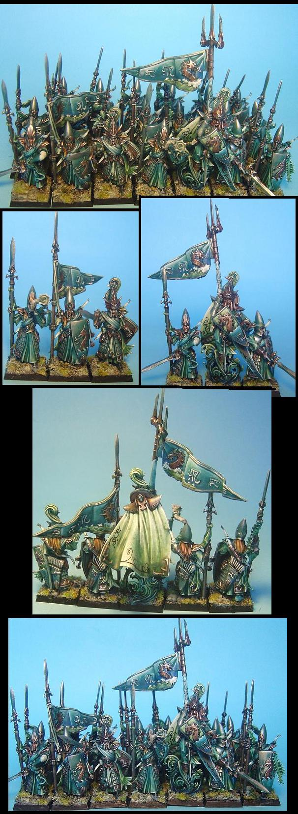high elves Lothern sea guards with special lord