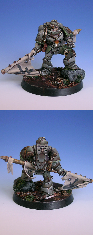 Ka'us - Death Guard Standard Bearer