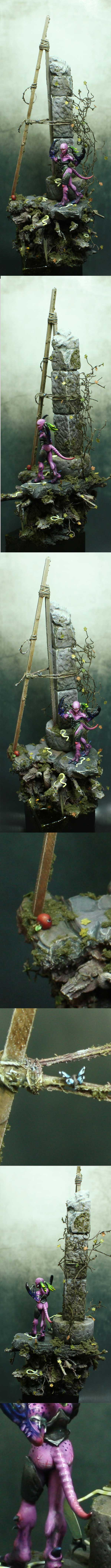 Daemonette of Slaanesh Diorama