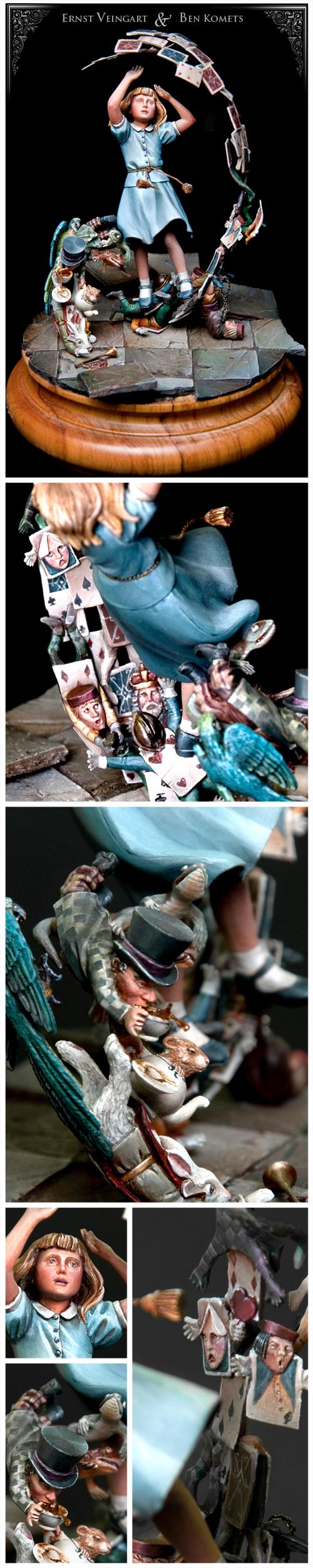 Alice & her collapsing Wonderland