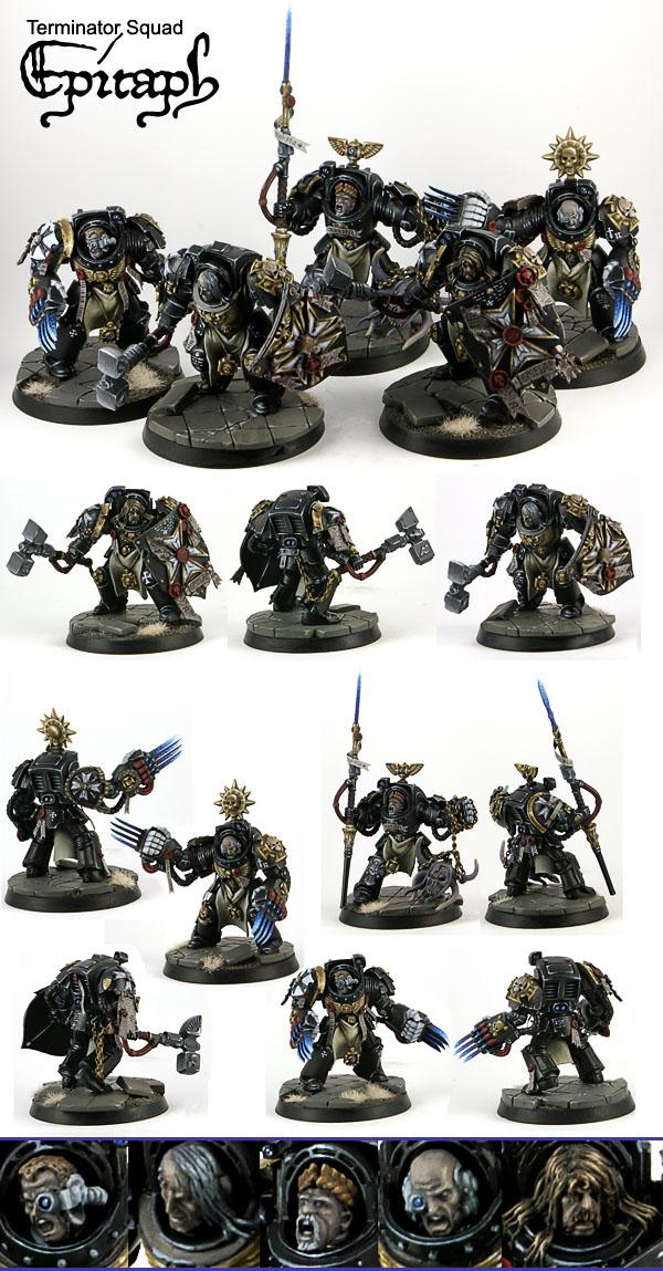 Black Templars Terminator Squad