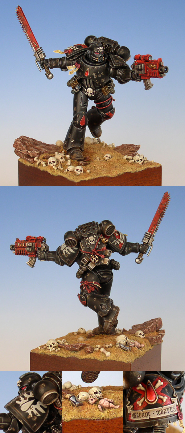 =I= scale Death Company Space Marine
