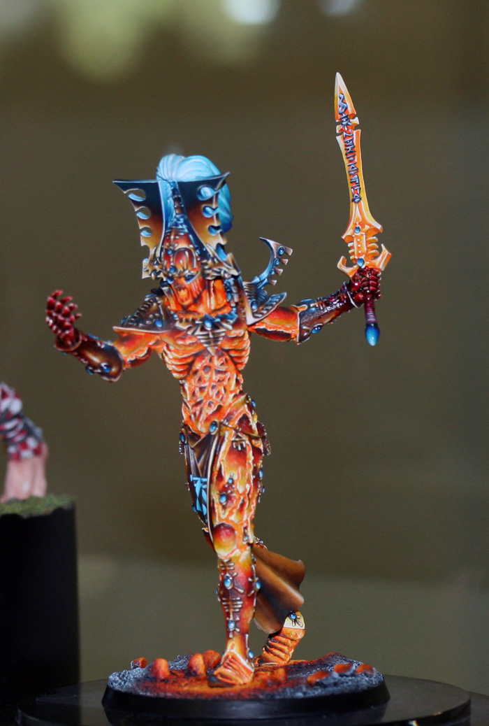 CoolMiniOrNot - Avatar Of Khaine - BRONZE GD France 2011 by BangDoll