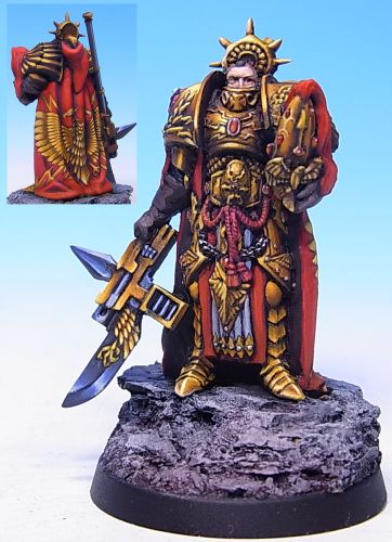 How Much Is A Paint Job >> CoolMiniOrNot - Constantin Valdor by QiaoZhong