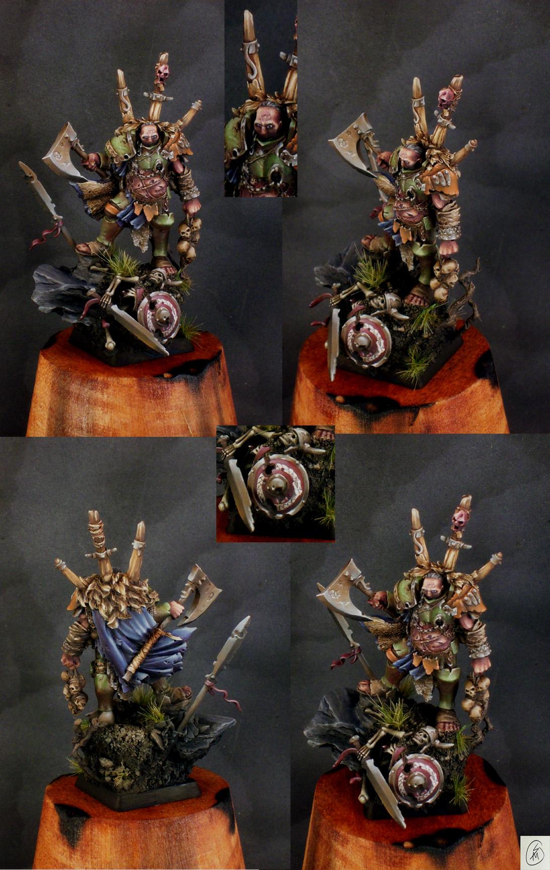 Morphus, Chaos Warlord