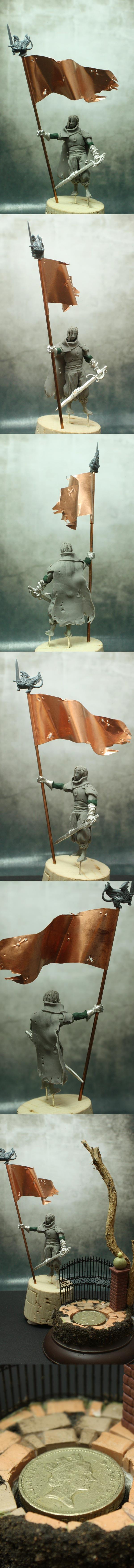 Cathay Warrior Scratchbuilt Sculpt