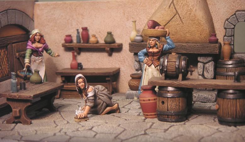les villageoises