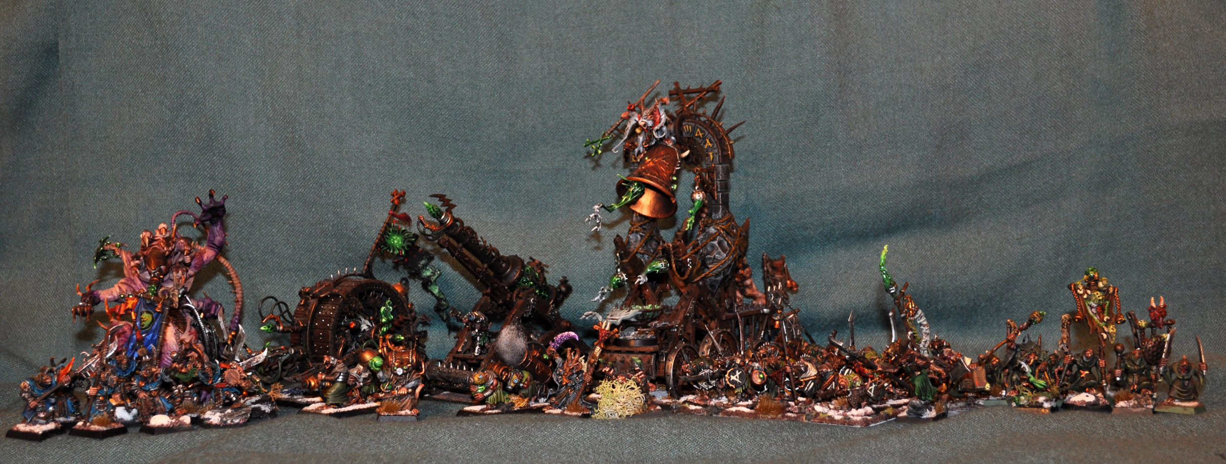 Coolminiornot Skaven Army By Xharamx