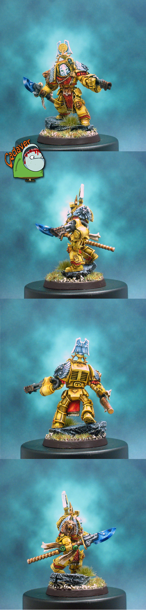 Forgefather Vulcan ~ Imperial Fists Version