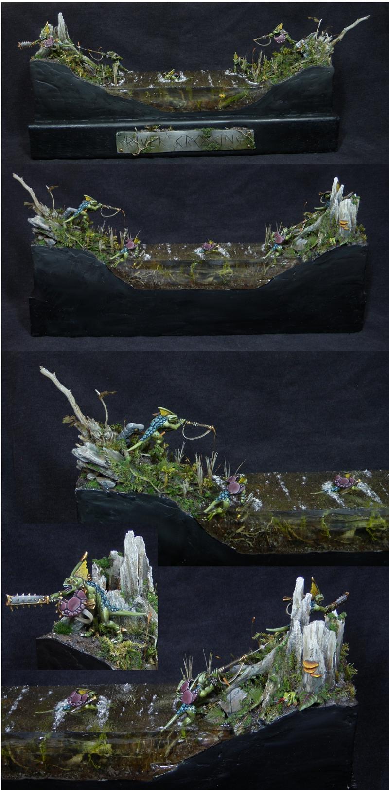 'River Crossing' Skink Diorama AUS GD2011