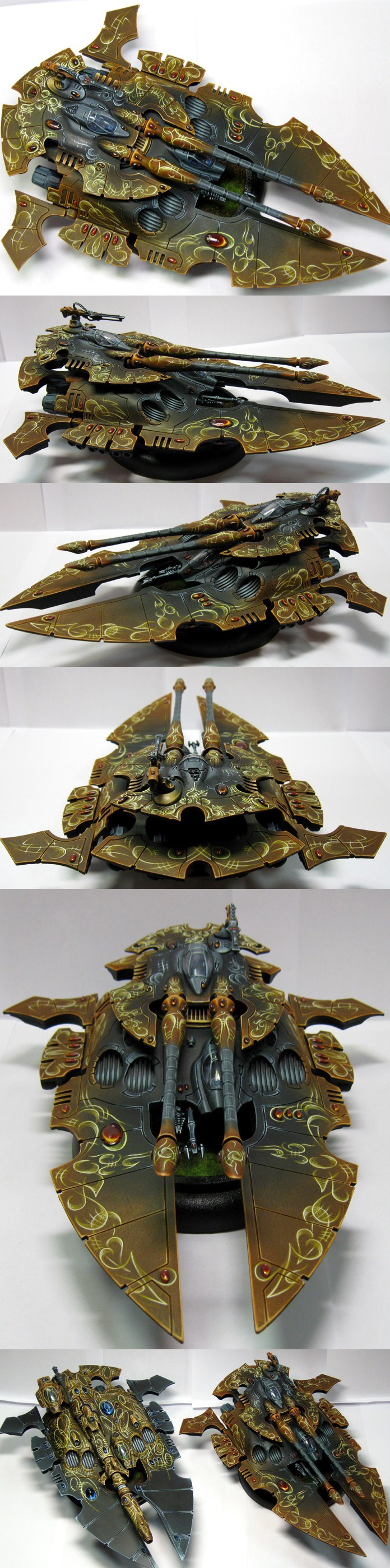 ELDAR SCORPION TYPE II SUPER HEAVY GRAV TANK