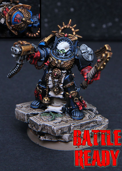 CoolMiniOrNot - Crimson Fists Terminator Chaplain by ...