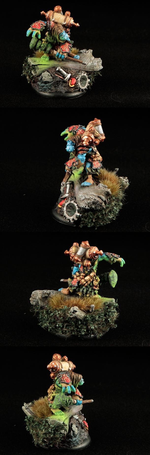 epic Doomshaper -- Trollbloods warlock